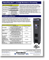 PulserPlus.Net High Resistance Grounding Tech Sheet